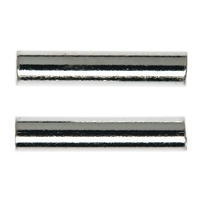 Tube 2x15mm, Silver (15 pc/VE)