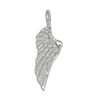 "Wing ""Kabriell"" 20mm, Silver (4 pc/VE)"