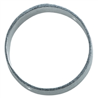 Frame round 30mm, Silver frosted (2 pc/VE)