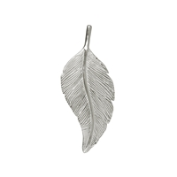 Feather Schwalbe/Swallow 40mm, Silver (1 pc/VE)