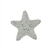 Seestern/Starfish 19mm, Silver (2 pc/VE)