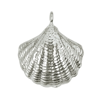 Muschel/Shell 19mm, Silver (1 pc/VE)