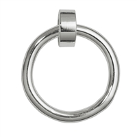 "Hanger for Charms ""Ring with Loop"" shiny, 14mm (3 pc/VE)"