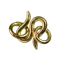 Hook Basic 08mm, Silver gold plated (10 pc/VE)