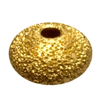 Saucer 3mm, Silver gold plated stardust (92 pc/VE)