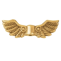 "Wing ""Bygul"" 22mm, Silver gold plated (4 pc/VE)"