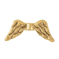 "Wing ""Engel"" 15mm, Silver gold plated (4 pc/VE)"