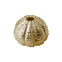 Seeigel/Urchin 21mm, Silver goldplated (1 pc/VE)