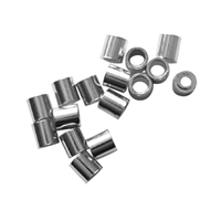 Crimp Tube 1,5mm, Silver rhodium plated (260 pc/VE)