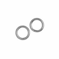 Jump Ring 06mm, Silver rhodiumplated (37 pc/VE)