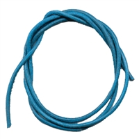 Leather String Goat Blue (Light), 1m (10 pc/VE)