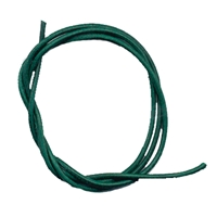 Leather Strings Goat Green, 1 meter (10 pc/VE)
