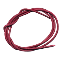 Leather String Goat Red (Burgundy), 1 meter (100 pc/VE)