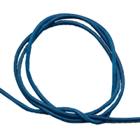 Leather Strings Goat Blue (Royale), 1 meter (100 pc/VE)