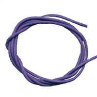 Leather Strings Goat Lilac, 1 meter (100 pc/VE)