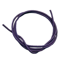 Leather Strings Goat Purple, 1 meter (100 pc/VE)