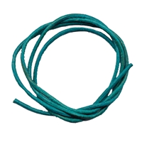 Leather Strings Goat Turquoise, 1 meter (100 pc/VE)