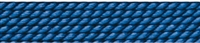 Silk Bead Cord blue, 0,45mm/2m