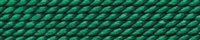 Silk Bead Cord green, 0,45mm/2m
