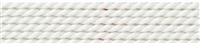 Silk Bead Cord white, 0,60mm/2m
