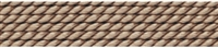 Silk Bead Cord beige, 0,80mm/2m