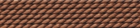 Silk Bead Cord brown, 0,80mm/2m