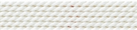 Silk Bead Cord white, 0,90mm/2m