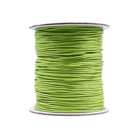 Cotton String olive, 1,0mm/100m