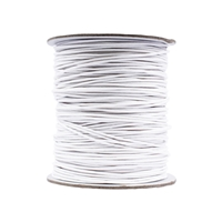 Cotton String white, 1,0mm/100m