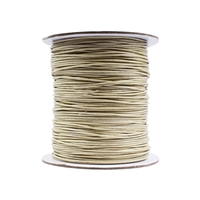 Cotton String beige, 1,0mm/100m