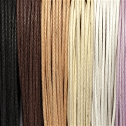 "Cotton Strings waxed, Mix ""Inspiration"", 2,0mm (6 colours, 5m each)