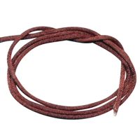 Nylon cord brown, 100m on roll.