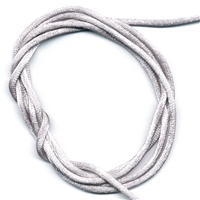 Nylon cord silver colour, 100m on roll.