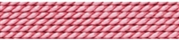 Nylon Bead Cord + beading needle, dark pink, 0,60mm/2m