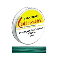 Basic Wire green, 0,38mm/25m