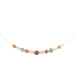 Collier Moonstone hover, 45cm