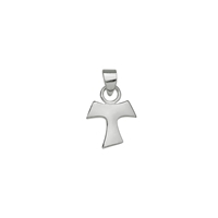 "Symbol-Pendant ""Bail Cross"", 925 Silver, polished"