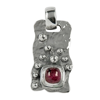 Pendant Tourmaline red, appr 3,3cm