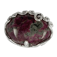 Pendant Eudialyte with Tendrils, appr. 3,0 x 2,1cm