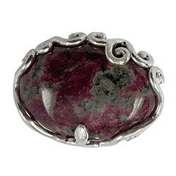 Pendant Eudialyte with Tendrils, 3,0 x 2,1cm