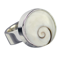 Ring Mother of Pearl, Size 57