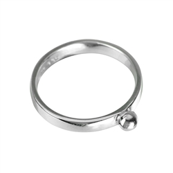 "Design Ring ""Sphäre"" (Sphere), Size 61"