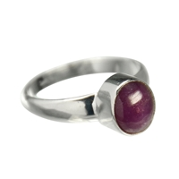 Ring Ruby, Size 55