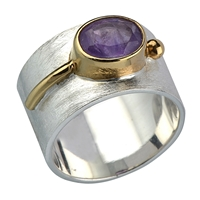 Ring Amethyst, Size 55