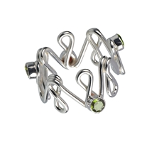"Ring ""Infinite Happiness"" Peridote, Size 61"