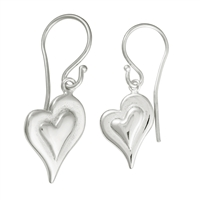 Ear Pendant Swing Heart, 16mm