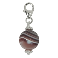 Charm Sphere Agate, appr. 33mm