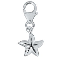 "Charm ""Starfish"", 925 Silver, 21mm"