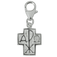 "Charm ""Cross with PX"", 28mm"