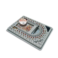 Bead Board small for 3 strings (ca. 33x27cm)